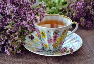herbal thyme tea